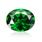 Natural Mined Colombia Green Emerald 8x10mm 4.16ct Oval Cut VVS AAA Loose Gems Decorations