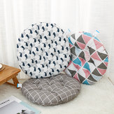 Nordic Round Cotton Cushion Dining Chair Seat Pads Thick Garden Floor Cushion