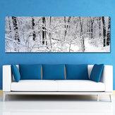 DYC 10494 Single Spray Peintures À L'huile Photographie Forêt Scène De Neige Peinture Mur Art Pour La Maison Décoration Peintures
