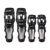 SULAITE 4Pcs Set di protezioni protettive per ginocchiere per gomitiere per motocicli