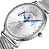 褒賞RD62007Mステンレススチールストラップクォーツ時計