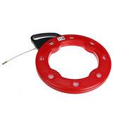 ガラス繊維ワイヤーケーブル魚ヘビテーププーラープーラーダクトコンジットロダーリール