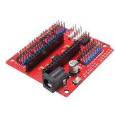 3Pcs Многофункциональная плата Funduino Nano Shield Nano Датчик Плата расширения Geekcreit для Arduino - продукты, которые работают с официальными платами Arduino