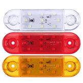12/4/6 / 10X 9LED Dash ide Marker Lights Lampe 12V 24V Remorque de Camion Caravane Camion Van