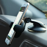 Bakeey 360 Degree Rotating Multifunction Suction Cup Auto Lock Car Mount Desktop Phone Holder for 5-8cm Width Smart Phone