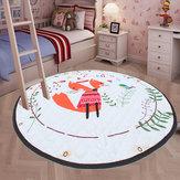 59 '' Bawełniana dziecięca siłownia dla dzieci Zagraj w dywan Mata podłogowa Aktywność Indeksowanie koców Torba do przechowywania zabawek