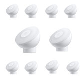 10pcs XIAOMI Mijia MJYD02YL Night Light 2 Generation Adjustable Brightness Infrared Smart Human Body Sensor With Magnetic Base