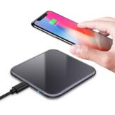 Bakeey 2 colores 5W Salida 5.8mm Mini cargador inalámbrico delgado para iPhone 11 Pro XR X para Samsung Huawei