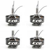 4 قطع Emax ايكو سلسلة 2207 2400 كيلو فولت 3-4 ثانية فرش السيارات ل rc طائرة استطلاع fpv سباق