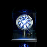 Skala 1: 1 MK2 Dirakit Inti DIY Kit Lampu LED Tony Arc Reactor Dengan Display Stand Cover