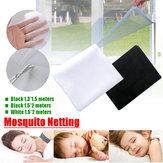 Insect Fly Screen Curtain Mesh Net Bug Mosquito Netting Door Window Protector
