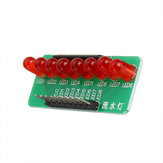 8 Way Water Light Marquee 5 MM RODE LED Light-emitting Diode Single Chip Module Diy Elektronische MCU Uitbreidingsmodule