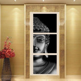3Pcs Set Print Art Paintings Wall Picture Home Decor Unframed Black