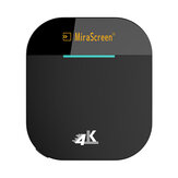 Mirascreen G5 Plus 2.4G 5G Wireless 4K HD H.265 Display Dongle TV bastone per Air Play DLNA Miracast