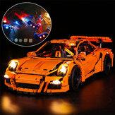 USB LED Light Lighting Kit ONLY For Lego 42056 911 GT3 RS Bricks Toys