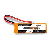 4PCS CNHL MiniStar 450mAh 3.7V 1S 70C Lipo Battery With PH 2.0 for EMAX TinyHawk
