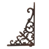 Retro Industrial Cast Iron Shelf Bracket Wall Mounted Shelf Supporter Garden