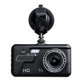 BT200 4 Pollici 1080P Doppia lente Carro 170 gradi DVR fotografica