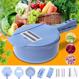9 In 1 Kitchen Mandoline Slicer Veggie Cutter Grater Chopper Julienne Slicer Vegetable Cutter