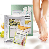 Exfoliating Peeling Foot Mask & Cream Baby Soft Feet Mask Remove Hard Dead Skin Callus