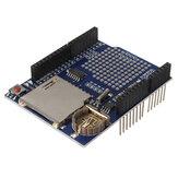 Rejestrator rejestrujący DataLog Tarcza Moduł rejestratora danych dla karty SD UNO Geekcreit dla Arduino - produkty współpracujące z oficjalnymi tablicami Arduino