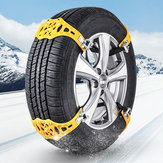 1pcs Car Snow Chain Beef Tendon Vehicles Wheel Tyre Anti-skid TPU Chains