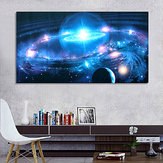 43*24 Inch Andromeda Galaxy Stars Universe Space Silk Poster Art Wall Home Decor Paints
