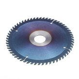 Drillpro 60 Teeth TCT Circular Saw Blade 6/7/8 Inch Nano Blue Coating Woodworking Cutting Disc