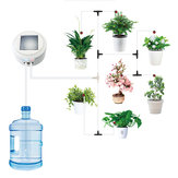 Solar Energy Charging Intelligent Garden Automatic Watering Device Set Flower Sprinkler Drip Irrigation Watering Tool Kits Water Timer System