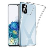 Bakeey Crystal Clear Transparent Non-jaune Antichoc Soft TPU Housse de protection pour Samsung Galaxy S20 + / Galaxy S20 Plus