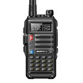 BaoFeng UV-B3 Plus Walkie Talkie VHF UHF 128 Channels Two Way Radio CB Funk-Transceiver 8W 10km Long Range AU Plug