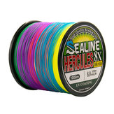 100m 12-100lb Fishing Line 8 Strands Braided Abrasion Resistant Strong Line