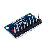 5pcs 3.3V 5V 8ビットブルーコモンカソードLEDインジケータディスプレイモジュールDIYキット
