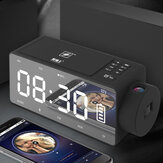 S91S Multifunctional Bluetooth Speaker Phone Wireless Charger DIY Alarm Clock Music Record FM Radio
