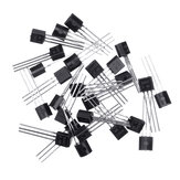 50pcs BC547+BC557 Each 25pcs BC547B BC557B NPN PNP Transistor TO-92 Power Triode Transistor Kit Bag
