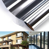 150x50CM One-way Mirror Glass Sticker Reflective Insulation Silver Window Film