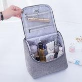 Hooks ile Taşınabilir Seyahat Kozmetik Çanta Büyük kapasiteli Kozmetik Düzenleyici