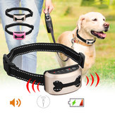 Pet Trainer Dog Anti Barking Stop Training Device USB Rechargeable 3 Modes Anti Barking Ultrasonic Voice Control