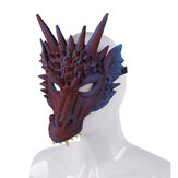 3D Animal Drago Horror Maschera Puntelli Halloween Carnival Halloween Party Cosplay