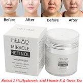 Melao 2.5% Retinol Vitamin E Facial Moisturizer