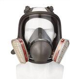 3 m 6800 için Tam Yüz Gaz Maske Yüz Parçası Maske Boyama Endüstriyel Guard
