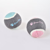 Pet Dog Tennis Chasing Training Roller Ball Toys Form
