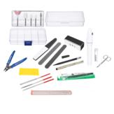 13Pcs Gundam Modeler Ferramentas básicas Craft Set para Hobby Model Building Kit Moagem
