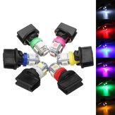 T10 SMD5050 194 LED Bombillas Coche Licencia Placa Bombilla de instrumentos Instrumento Indicador Luz de tablero con Enchufe