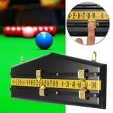 MDF Billiards Scoreboard Snooker لعبة Scorer Board Player Calculator رقم Scorer Board