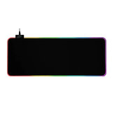 GMS-X5 RGB Light Gaming muismat Toetsenbordmat USB-interface Computer Mousepad Desktop Backlit Mat