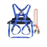 Outdoor Camping Klettern Sicherheitsgurt Sicherheitsgurt Blau Sitzen Klettern Abseilen Werkzeug Klettern Zubehör