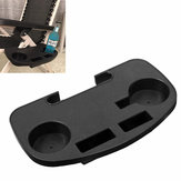 Multi-functional Folding Chair Table Side Tray Drink Cup Water Bottle Holder Phone Rack