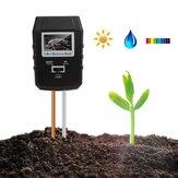 3-em-1 Soil Medidor de PH Medidor de Umidade Interior Plantas Jardim Luz Do Gramado Sensor Solo Monitor