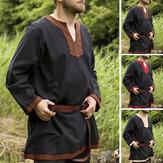 رجل القرون الوسطى فارس يتوهم تونك القمم هالوين تأثيري حلي تي شيرت بلايز US